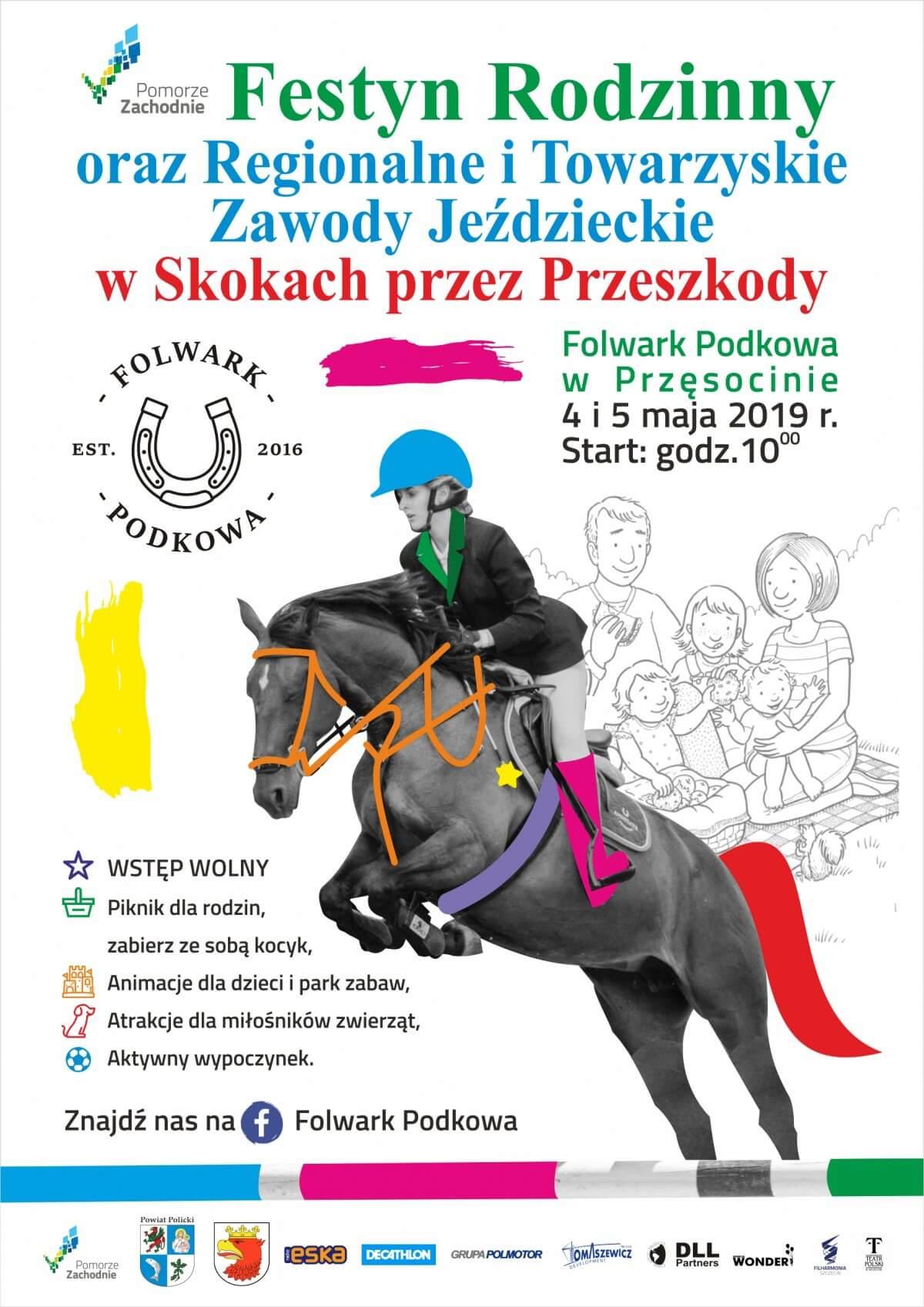 6d935c3c3f9da Zapraszamy na Festyn Rodzinny oraz Regionalne Towarzyskie Zawody Jeździeckie  w Skokach przez Przeszkody
