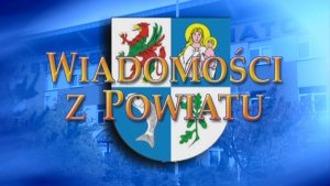 """Logotyp programu """"Wiadomości z Powiatu"""""""