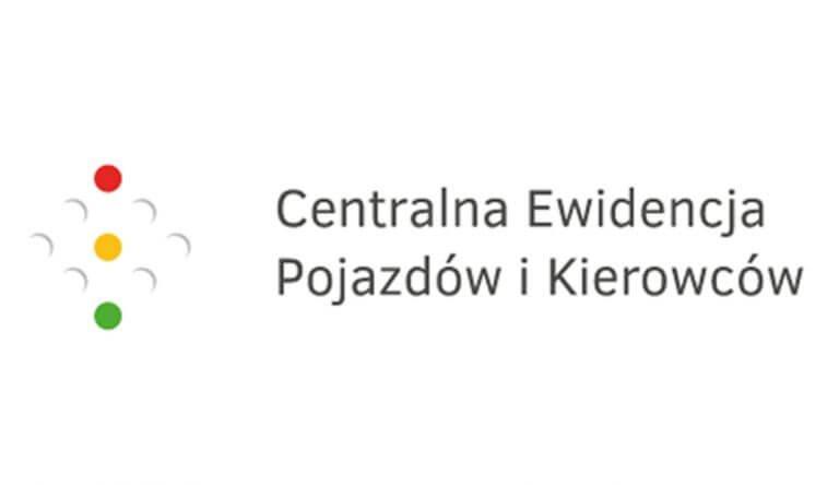 logo Centralnej Ewidencji Pojazdów i Kierowców
