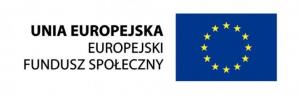 Logo Unii Europejskiej Europejskiego Funduszu Społecznego