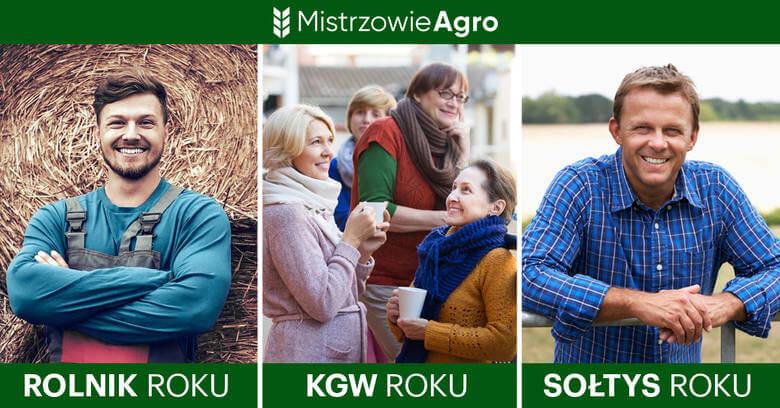 Mistrzowie Agro zdjęcie przedstawia uśmiechniętych ludzi związanych z rolnictwem
