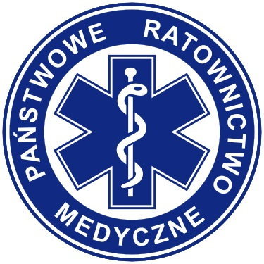 Zdjęcie przedstawia logo Państwowego Ratownictwa Medycznego