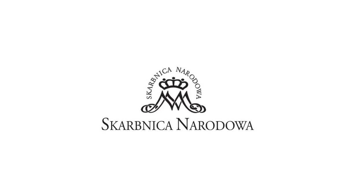 Zdjęcie przedstawia logo Skarbnicy Narodowej