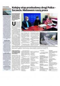 Promocyjna strona Powiatu Polickiego w Głosie Polic