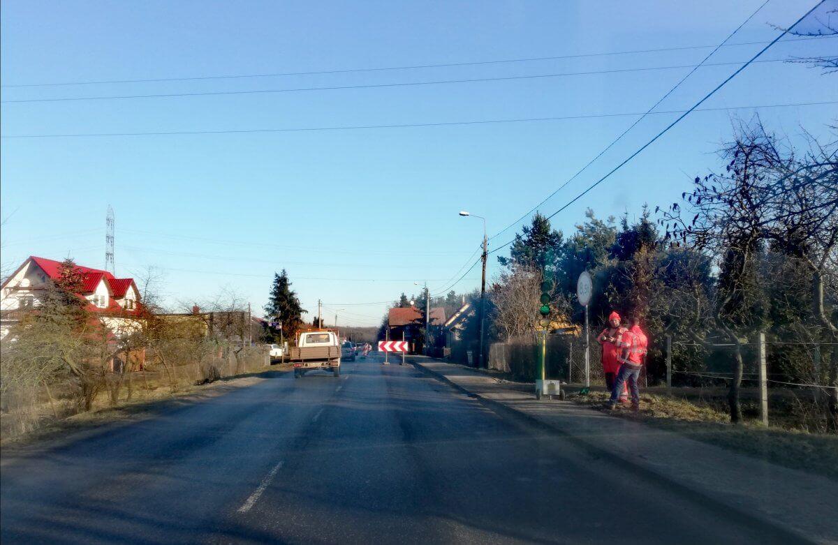 Ruch wahadłowy na odcinku drogowym Police-Szczecin