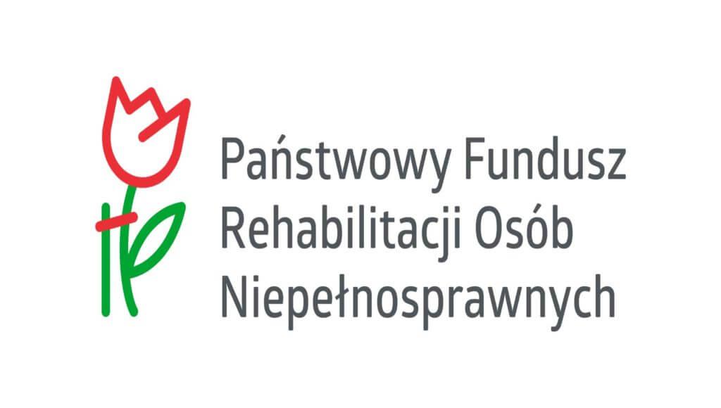 Logotyp Państwowego Funduszu Rehabilitacji Osób NIepełnosprawnych