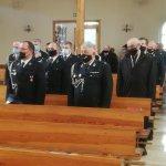 Strażacy podczas Mszy Świętej