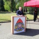 Przemówienie Starosty Polickiego Andrzeja Bednarka