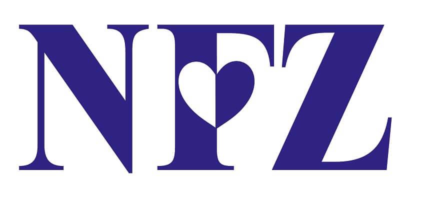 Logotyp Narodowego Funduszu Zdrowia
