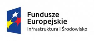 Logo z napisem Fundusze Europejskie Infrastruktura i Środowisko