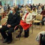 Wicestarosta Policki Joanna Napiwodzka podczas konferencji szkoleniowej